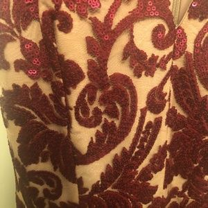Dress the Population Dresses - NWT - Anthropologie Sequined Floral Dress